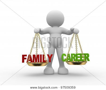 Family And Career Balance.