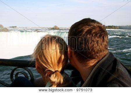 Couple at Falls