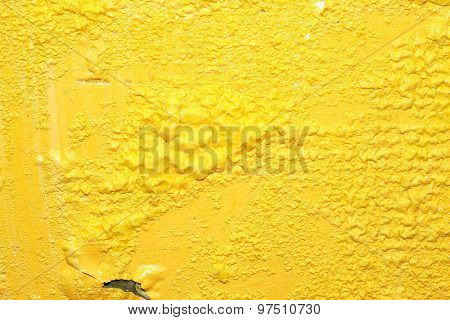 Yellow Paint Background