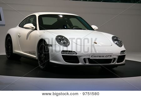 Porsche 911 Carrera Gts Cabriolet At Paris Motor Show