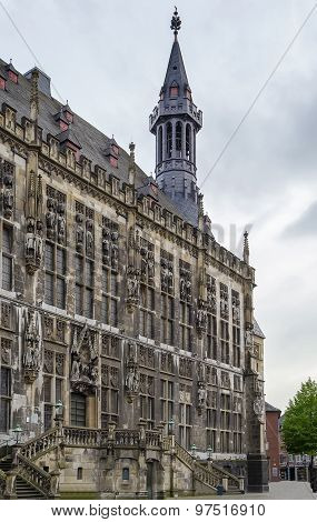 Aachen Rathaus (city Hall), Germany