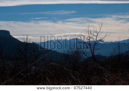 beautiful mountain scenery of the Republic Adygea