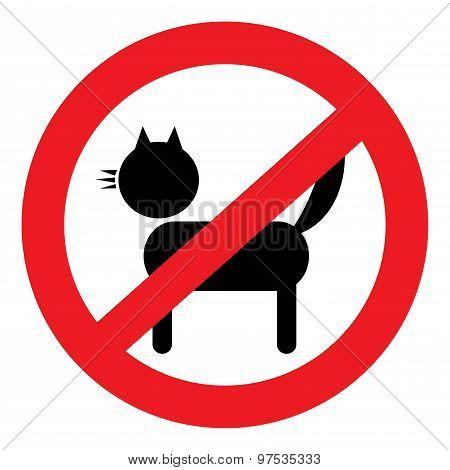 icon ban cat