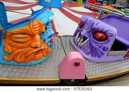 Evil Cabins On The Carousel