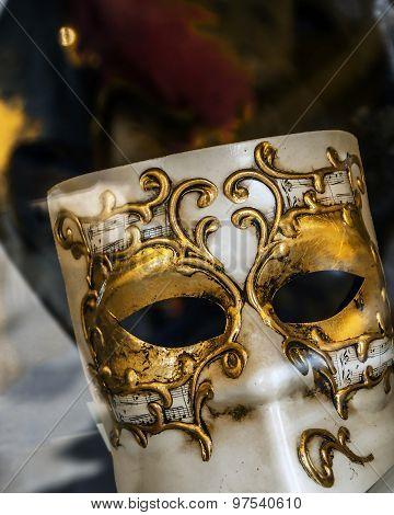 Venetian Mask Closeup