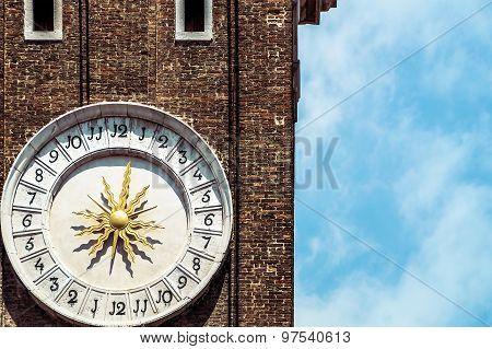 Sundial In Venice