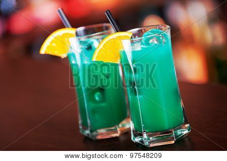 Cocktails Collection - Deep Blue Sea