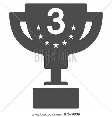 Third prize icon