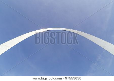 Gateway Arch in the Sun