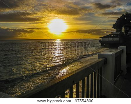Maui: Lahaina sunset