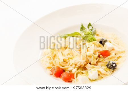 pasta with olives
