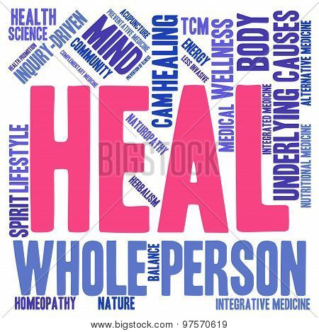Heal Word Cloud