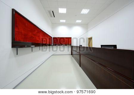 Contemporary Reception Room Interior