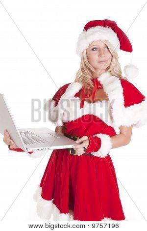 Santas Helper Looking Back