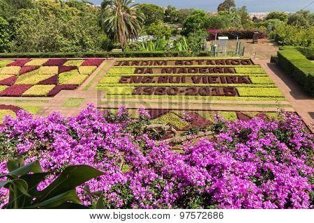 Botanical Garden Of Funchal, Madeira Island.