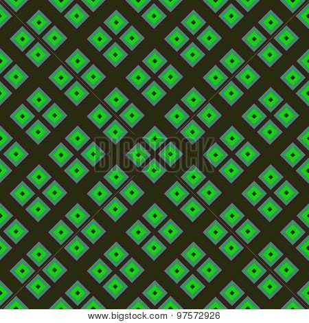 Seamless Pattern Made Of Colorful Geometrical Tiles