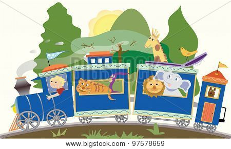 Fun Animal Train