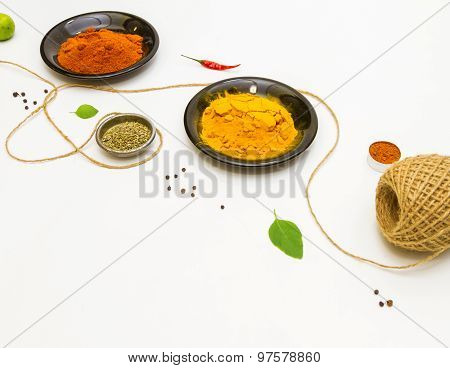 Spices For Food.