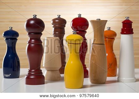 Salt Cellar And Pepper Shaker