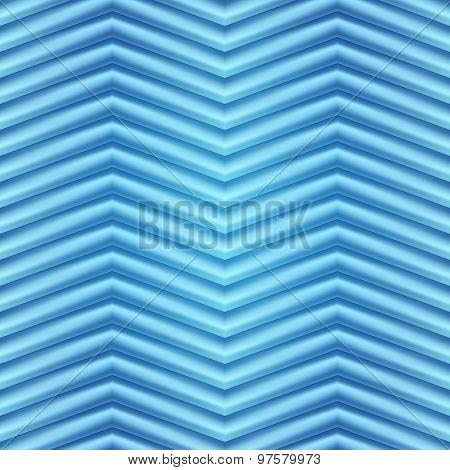 Blue background illustration of wavy folds