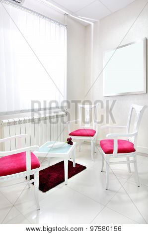 Hospital Waiting Room Interior