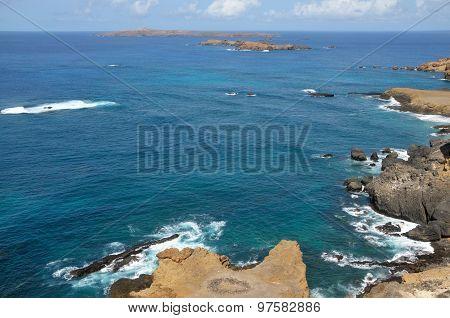 Blue Ocean Below
