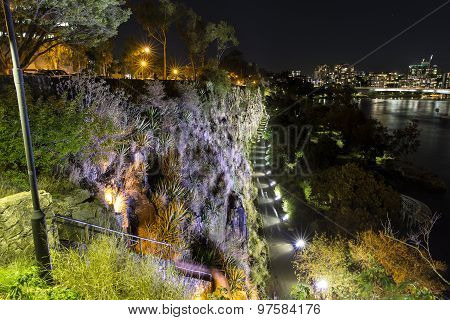 Brisbane Kangaroo Point Cliffs