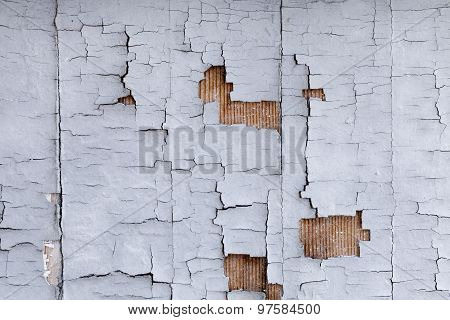 Distressed Building Wall