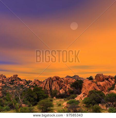 Texas Canyon Sunset