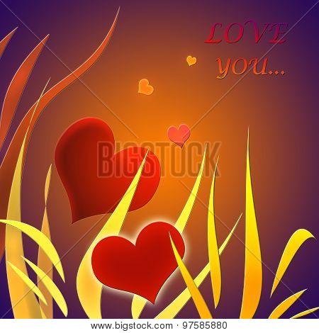 Illustration For Theme For Valentine's Day