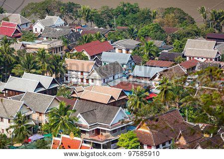 Rooftops Of Luang Prabang