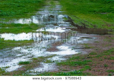 Puddles On The Track