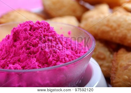 Gujia, Special Dish On Holi Festival