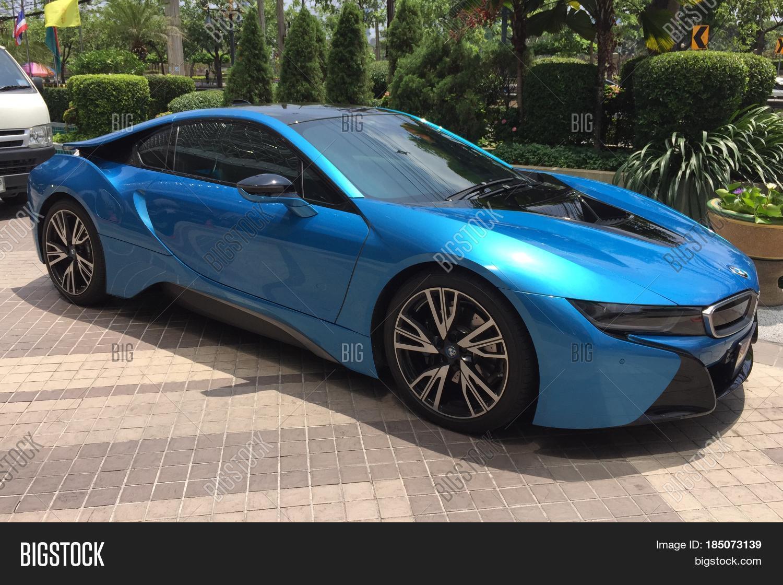 Bangkok Thailand 5 May 2017 Bmw I8 Concept Electric Vehicle Car On