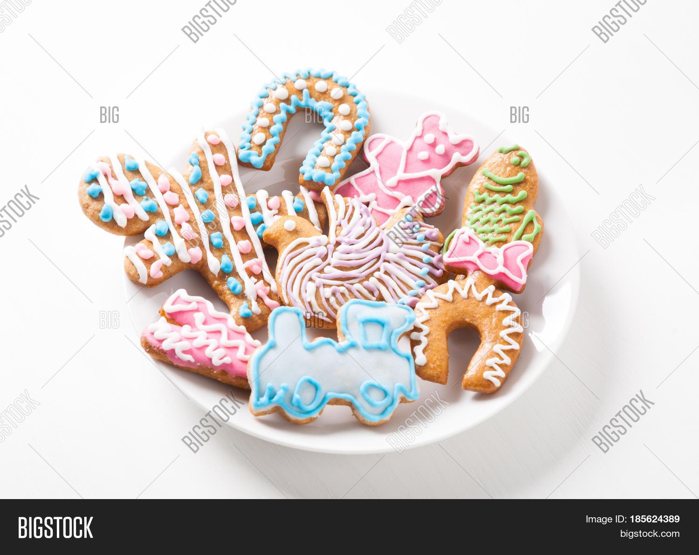 Traditional Czech Christmas Cookies Image Photo Hd Bigstock