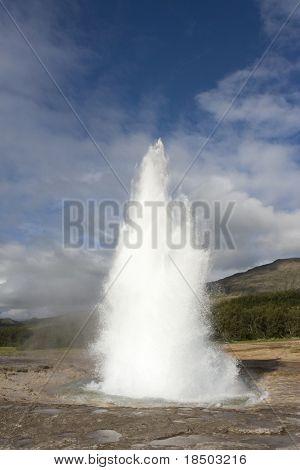 Geyser in Iceland