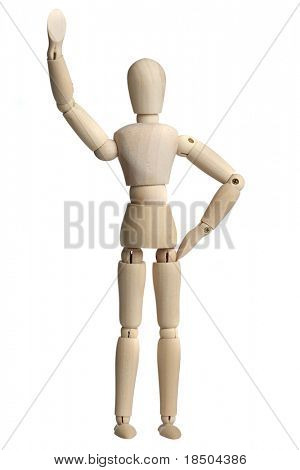 I can do it....A wooden Mannequin