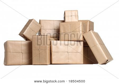 Stack of Parcels
