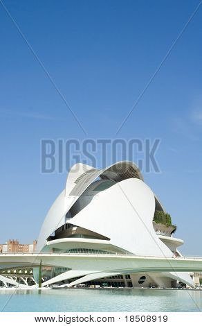 Palau de les Arts Reina Sofia Multi hall Auditorium in Valencia, Spain