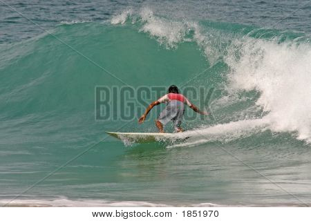Riding Tropical Waves