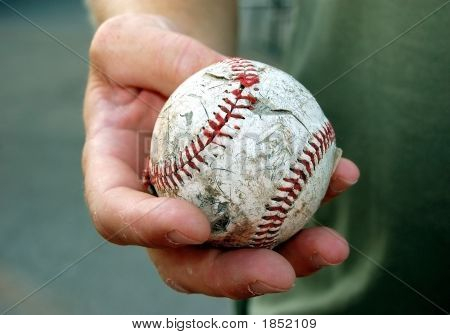 Well Worn Baseball