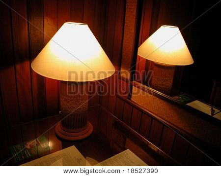 Iban table lamp