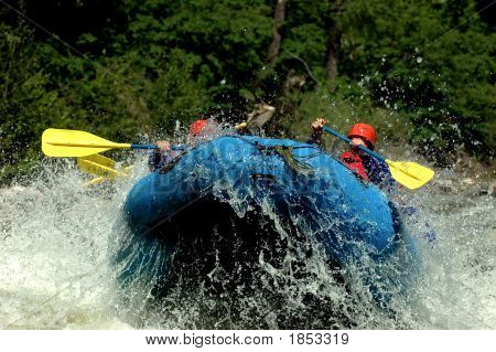 Whitewater Rafting Lift Off