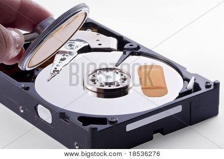 Sick Hard Disk Needs A Doctor