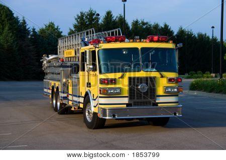 Ladder Truck Front
