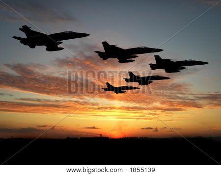 Five Hornets