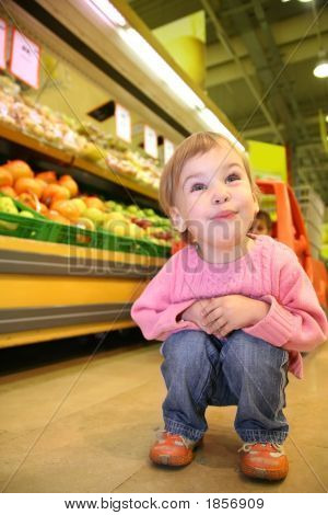 Child In The Supermarket