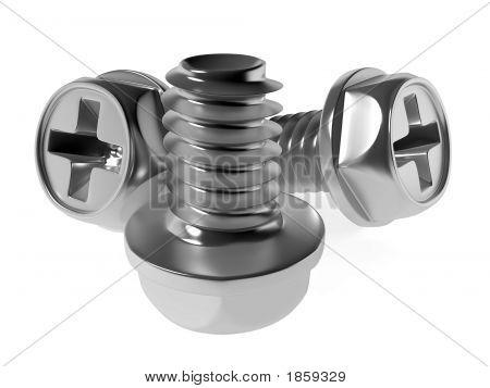 Metallic Screw-Bolts
