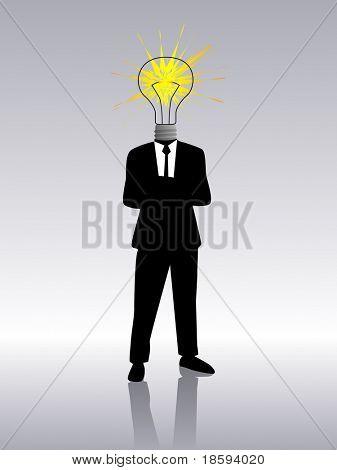 A bulb for a head