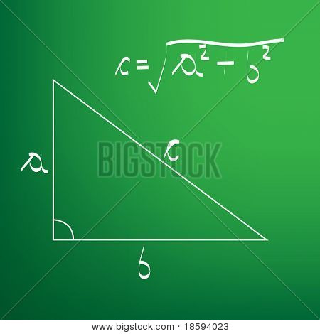 Pythagorean theorem - vector